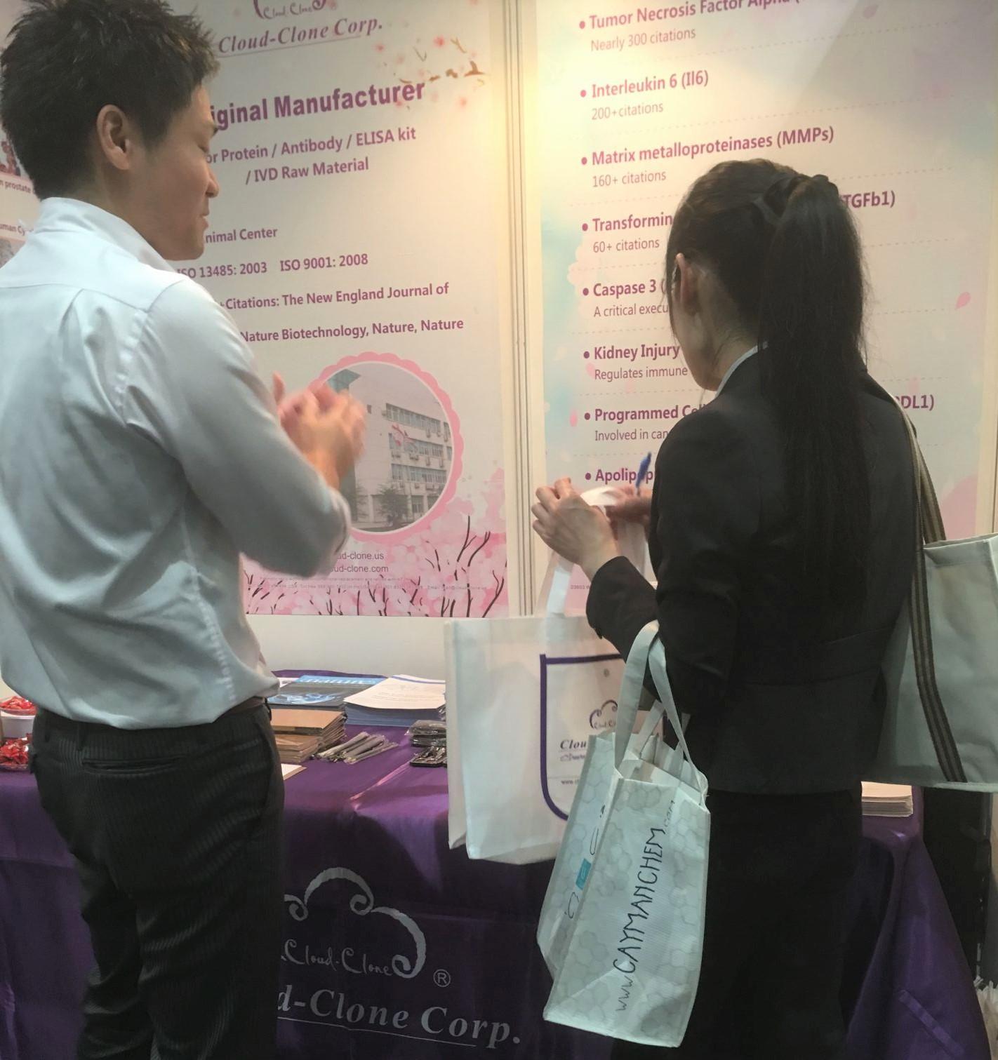 Cloud-Clone Attended 2018 JCA in Japan