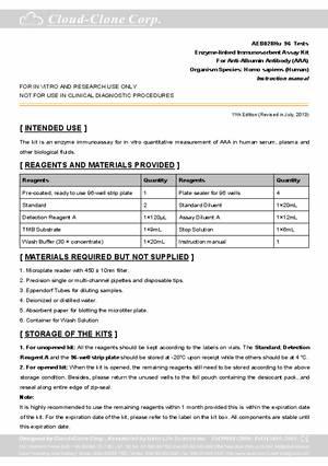 ELISA-Kit-for-Anti-Albumin-Antibody-(AAA)-E90334Hu.pdf