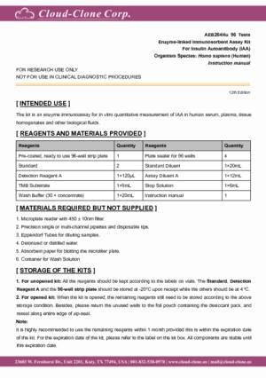 ELISA-Kit-for-Insulin-Autoantibody-(IAA)-AEB264Hu.pdf