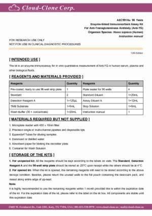 ELISA-Kit-for-Anti-Transglutaminase-Antibody-(Anti-TG)-AEC991Hu.pdf