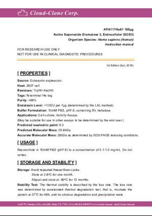 Active-Superoxide-Dismutase-3--Extracellular-(SOD3)-APA117Hu61.pdf