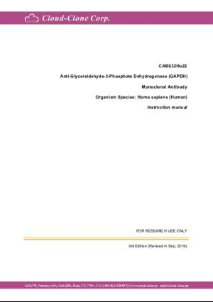 Anti-Glyceraldehyde-3-Phosphate-Dehydrogenase-(GAPDH)-Monoclonal-Antibody-CAB932Hu22.pdf