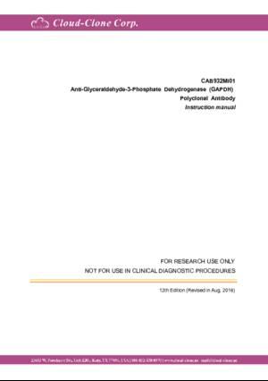 Anti-Glyceraldehyde-3-Phosphate-Dehydrogenase-(GAPDH)-Polyclonal-Antibody-CAB932Mi01.pdf