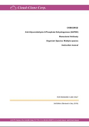 Anti-Glyceraldehyde-3-Phosphate-Dehydrogenase-(GAPDH)-Monoclonal-Antibody-CAB932Mi22.pdf