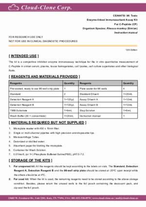 ELISA-Kit-for-C-Peptide-(CP)-CEA447Si.pdf