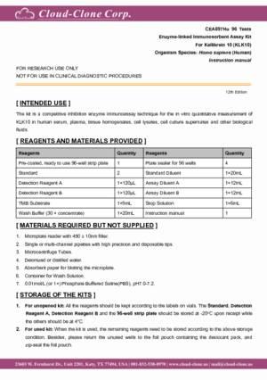ELISA-Kit-for-Kallikrein-10-(KLK10)-E90697Hu.pdf