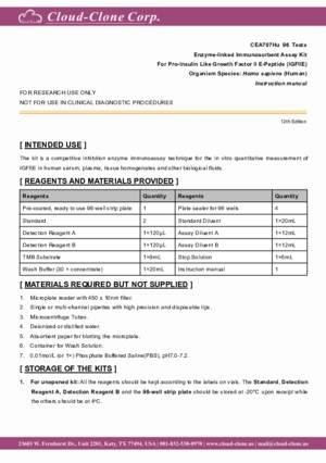 ELISA-Kit-for-Pro-Insulin-Like-Growth-Factor-II-E-Peptide-(IGFIIE)-CEA707Hu.pdf