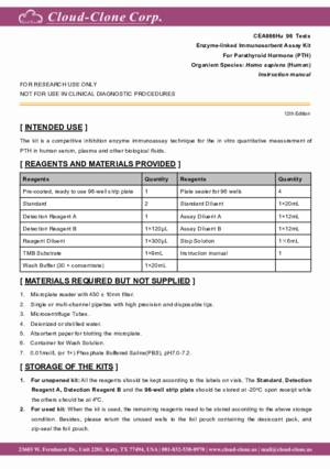 ELISA-Kit-for-Parathyroid-Hormone-(PTH)-CEA866Hu.pdf