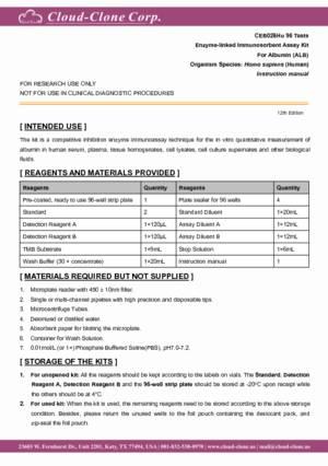 ELISA-Kit-for-Albumin-(ALB)-CEB028Hu.pdf
