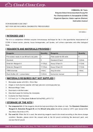 ELISA-Kit-for-Cholecystokinin-8-(CCK8)-CEB044Hu.pdf