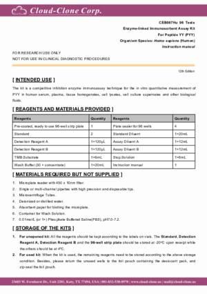 ELISA-Kit-for-Peptide-YY-(PYY)-CEB067Hu.pdf