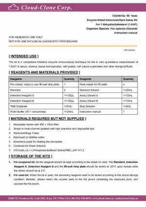 ELISA-Kit-for-7-Dehydrocholesterol-(7-DHC)-CED057Ge.pdf