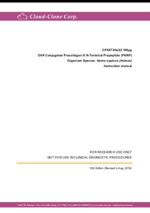 OVA-Conjugated-Procollagen-III-N-Terminal-Propeptide-(PIIINP)-CPA573Hu22.pdf