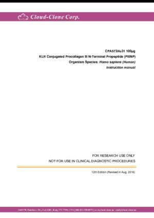 KLH-Conjugated-Procollagen-III-N-Terminal-Propeptide-(PIIINP)-CPA573Hu31.pdf