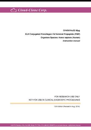 KLH-Conjugated-Procollagen-I-N-Terminal-Propeptide-(PINP)-CPA957Hu32.pdf