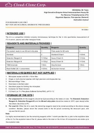 High-Sensitive-ELISA-Kit-for-Reverse-Triiodothyronine-(rT3)-HEC022Ge.pdf