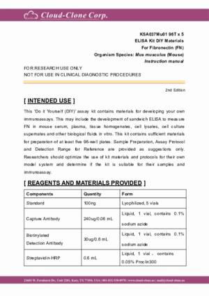 ELISA-Kit-DIY-Materials-for-Fibronectin-(FN)-KSA037Mu01.pdf