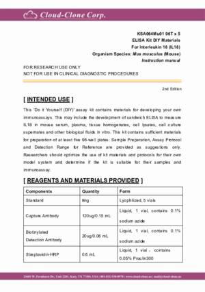 ELISA-Kit-DIY-Materials-for-Interleukin-18-(IL18)-KSA064Mu01.pdf