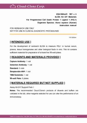 ELISA-Kit-DIY-Materials-for-Programmed-Cell-Death-Protein-1-Ligand-1-(PDL1)-KSA788Hu01.pdf