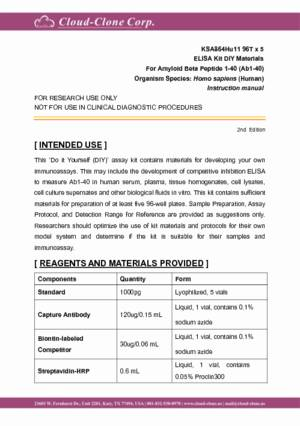 ELISA-Kit-DIY-Materials-for-Amyloid-Beta-Peptide-1-40-(Ab1-40)-KSA864Hu11.pdf