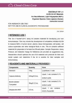 ELISA-Kit-DIY-Materials-for-Neurofilament--Light-Polypeptide-(NEFL)-KSE038Hu01.pdf