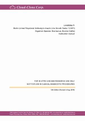 Biotin-Linked-Polyclonal-Antibody-to-Insulin-Like-Growth-Factor-1-(IGF1)-LAA050Bo71.pdf