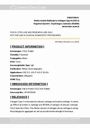 Biotin-Linked-Antibody-to-Collagen-Type-II--COL2--PAA572Rb71.pdf