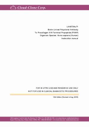 Biotin-Linked-Polyclonal-Antibody-to-Procollagen-III-N-Terminal-Propeptide-(PIIINP)-LAA573Hu71.pdf