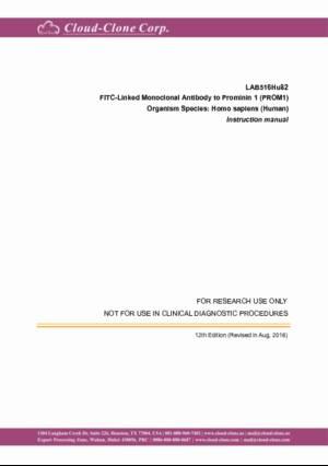 FITC-Linked-Monoclonal-Antibody-to-Prominin-1-(PROM1)-LAB516Hu82.pdf