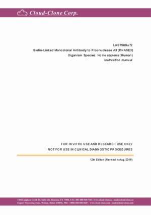 Biotin-Linked-Monoclonal-Antibody-to-Ribonuclease-A3-(RNASE3)-LAB758Hu72.pdf