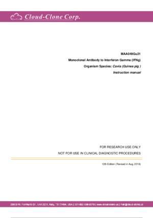 Monoclonal-Antibody-to-Interferon-Gamma-(IFNg)-MAA049Gu21.pdf