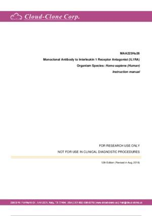 Monoclonal-Antibody-to-Interleukin-1-Receptor-Antagonist-(IL1RA)-MAA223Hu26.pdf