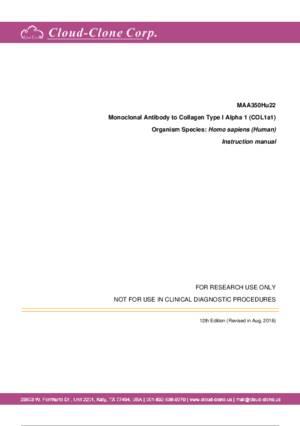 Monoclonal-Antibody-to-Collagen-Type-I-Alpha-1-(COL1a1)-MAA350Hu22.pdf