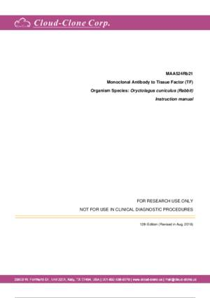 Monoclonal-Antibody-to-Tissue-Factor-(TF)-MAA524Rb21.pdf
