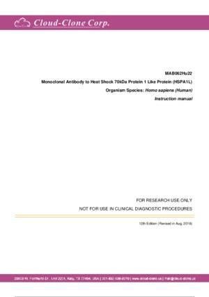 Monoclonal-Antibody-to-Heat-Shock-70kDa-Protein-1-Like-Protein-(HSPA1L)-MAB062Hu22.pdf