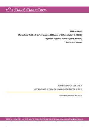 Monoclonal-Antibody-to-Tetraspanin-30Cluster-of-Differentiation-63-(CD63)-MAB345Hu22.pdf