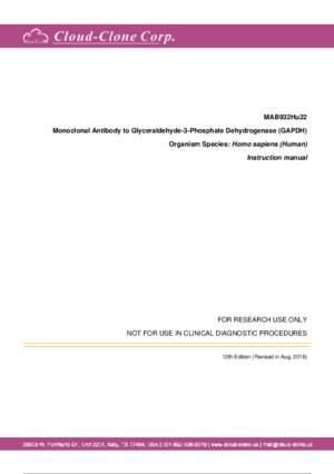 Monoclonal-Antibody-to-Glyceraldehyde-3-Phosphate-Dehydrogenase-(GAPDH)-MAB932Hu22.pdf