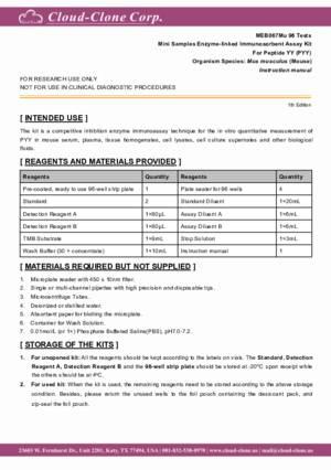 Mini-Samples-ELISA-Kit-for-Peptide-YY-(PYY)-MEB067Mu.pdf