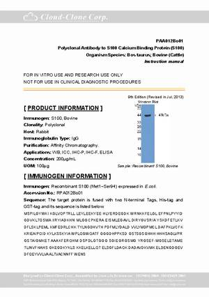 Polyclonal-Antibody-to-S100-Calcium-Binding-Protein--S100--PAA012Bo01.pdf