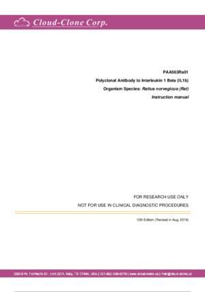 Polyclonal-Antibody-to-Interleukin-1-Beta-(IL1b)-PAA563Ra01.pdf