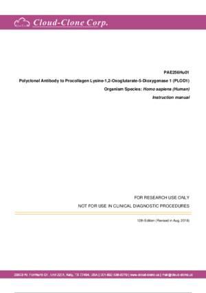 Polyclonal-Antibody-to-Procollagen-Lysine-1-2-Oxoglutarate-5-Dioxygenase-1--PLOD1--PAE256Hu01.pdf