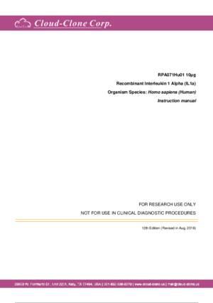 Recombinant-Interleukin-1-Alpha-(IL1a)-RPA071Hu01.pdf
