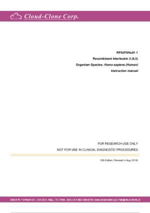 Recombinant-Interleukin-3-(IL3)-RPA076Hu01.pdf