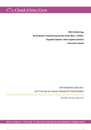 Recombinant-Transforming-Growth-Factor-Beta-1-(TGFb1)-RPA124Hu01.pdf