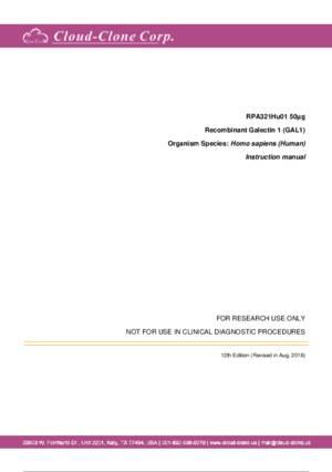 Recombinant-Galectin-1-(GAL1)-RPA321Hu01.pdf