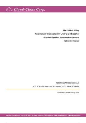 Recombinant-Cholecystokinin-4--Tetrapeptide-(CCK4)-RPA378Hu01.pdf