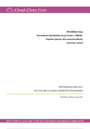 Recombinant-High-Mobility-Group-Protein-1-(HMG1)-RPA399Mu01.pdf