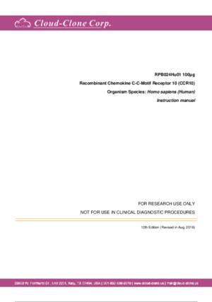 Recombinant-Chemokine-C-C-Motif-Receptor-10-(CCR10)-RPB024Hu01.pdf