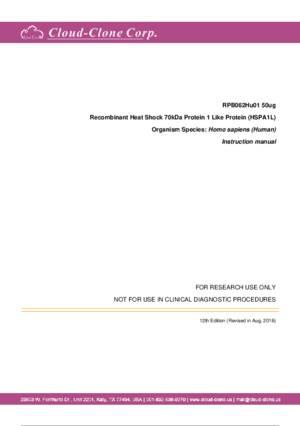 Recombinant-Heat-Shock-70kDa-Protein-1-Like-Protein-(HSPA1L)-RPB062Hu01.pdf