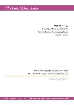 Recombinant-Fibrinogen-Beta-(FGb)-RPB215Mu01.pdf